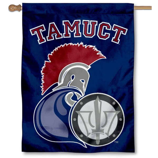 Texas A&M Central Texas Warriors House Flag is a vertical house flag which measures 30x40 inches, is made of 2 ply 100% polyester, offers screen printed NCAA team insignias, and has a top pole sleeve to hang vertically. Our Texas A&M Central Texas Warriors House Flag is officially licensed by the selected university and the NCAA.