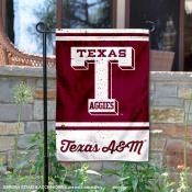 Texas A&M College Vault Logo Garden Flag