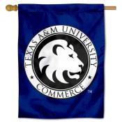 Texas A&M Commerce Lions Banner Flag