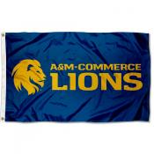 Texas A&M Commerce Lions Flag