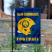 Texas A&M Commerce Lions Helmet Yard Garden Flag