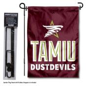 Texas A&M International Dustdevils Garden Flag and Pole Stand Mount