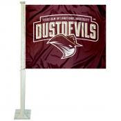 Texas A&M International Dustdevils Logo Car Flag