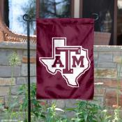 Texas A&M Lone Star Logo Garden Flag