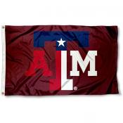 Texas A&M State Colors Flag