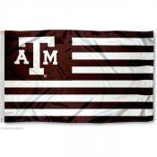 Texas A&M Stripes Nation Flag