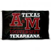 Texas A&M Texarkana Eagles Black Flag