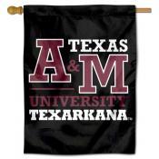 Texas A&M Texarkana Eagles Double Sided House Flag