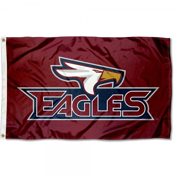 Texas A&M Texarkana Eagles Flag measures 3x5 feet, is made of 100% polyester, offers quadruple stitched flyends, has two metal grommets, and offers screen printed NCAA team logos and insignias. Our Texas A&M Texarkana Eagles Flag is officially licensed by the selected university and NCAA.