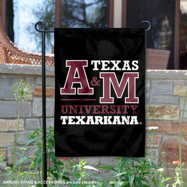 Texas A&M Texarkana Eagles Garden Flag is 13x18 inches in size, is made of 2-layer polyester, screen printed university athletic logos and lettering, and is readable and viewable correctly on both sides. Available same day shipping, our Texas A&M Texarkana Eagles Garden Flag is officially licensed and approved by the university and the NCAA.