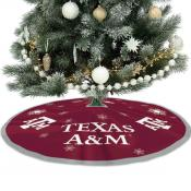 Texas A&M University Aggies Christmas Tree Skirt