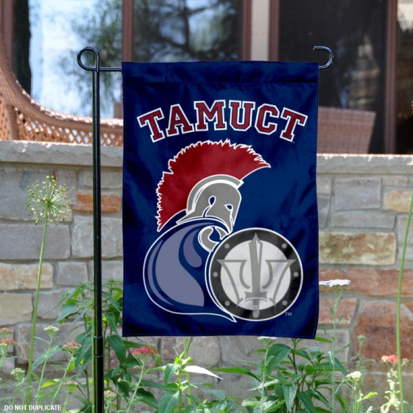 Texas A&M University Central Texas Garden Flag is 13x18 inches in size, is made of 2-layer polyester, screen printed university athletic logos and lettering, and is readable and viewable correctly on both sides. Available same day shipping, our Texas A&M University Central Texas Garden Flag is officially licensed and approved by the university and the NCAA.