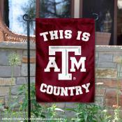 Texas A&M University Country Garden Flag
