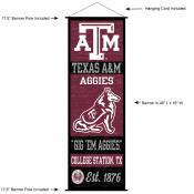 Texas A&M University Decor and Banner