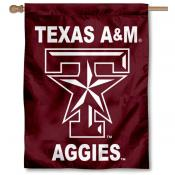 Texas A&M University House Flag