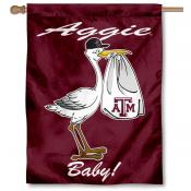 Texas A&M University New Baby Flag