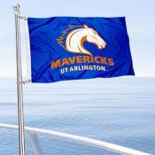 Texas Arlington Mavericks Boat and Mini Flag