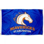 Texas Arlington Mavericks Flag