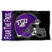 Texas Christian Football Flag