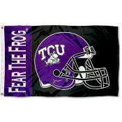 Texas Christian Football Flag