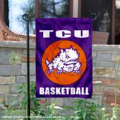 Texas Christian Horned Frogs Basketball Garden Banner