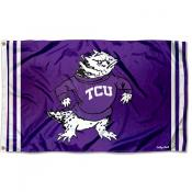 Texas Christian Horned Frogs Throwback Vault Logo Flag