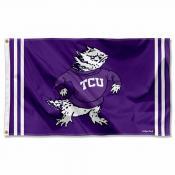 Texas Christian Horned Frogs Throwback Vault Logo Flag