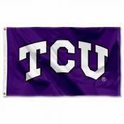 Texas Christian TCU Flag