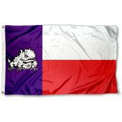 Texas Christian Texas State Flag