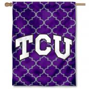 Texas Christian University Decorative Banner Flag