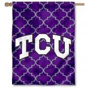 Texas Christian University Decorative Banner Flag