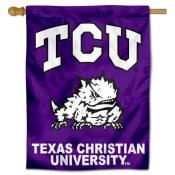 Texas Christian University Decorative Flag