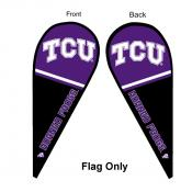 Texas Christian University Feather Flag