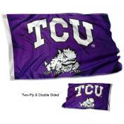 Texas Christian University Flag