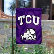 Texas Christian University Garden Flag