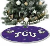 Texas Christian University Horned Frogs Christmas Tree Skirt