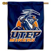 Texas El Paso Miners Double Sided House Flag