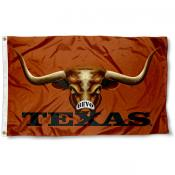 Texas Longhorn Bevo Eye Flag