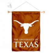 Texas Longhorns Banner with Suction Cup