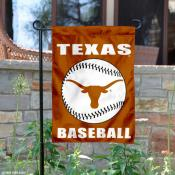 Texas Longhorns Baseball Team Garden Flag