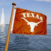 Texas Longhorns  Nautical Flag