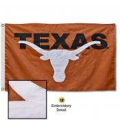Texas Longhorns Nylon Embroidered Flag