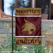 Texas State Bobcats Garden Flag