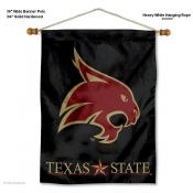 Texas State Bobcats Wall Banner