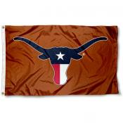 Texas State Colors Longhorns Flag