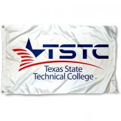 Texas State Tech TSTC Wordmark Flag