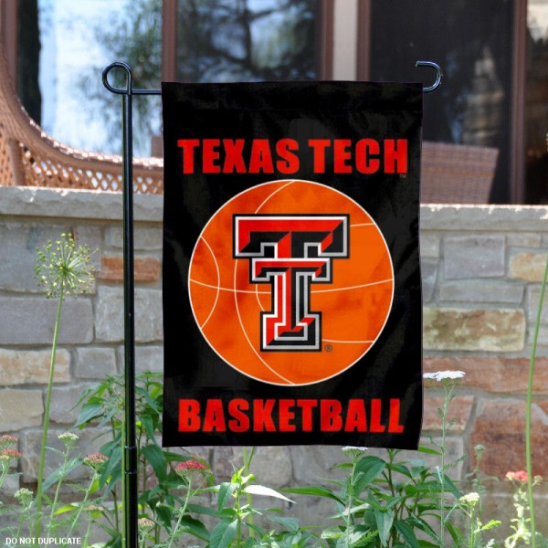 Texas Tech Basketball Garden Banner is 13x18 inches in size, is made of 2-layer polyester, screen printed athletic logos and lettering. Available with Same Day Express Shipping, Our Texas Tech Basketball Garden Banner is officially licensed and approved by the school and the NCAA.