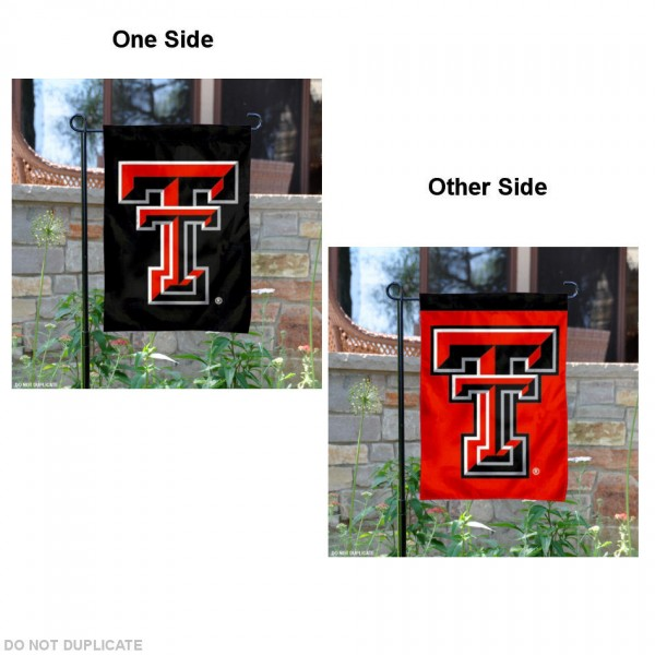 Texas Tech Dual Logo Garden Flag