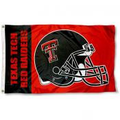 Texas Tech Football Flag