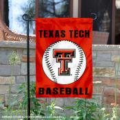 Texas Tech Red Raiders Baseball Team Garden Flag